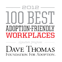 2012 100 Best Adoption-Friendly Workplaces Signature Program, Dave Thomas Foundation For Adoption
