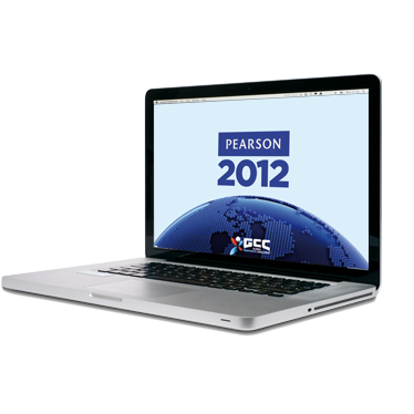 Laptop with Pearson 2012, and CGG on screen